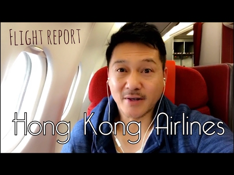 Hong Kong Airlines Business Class Flight