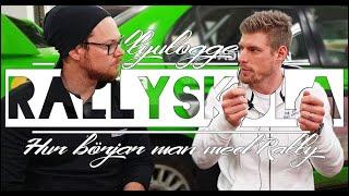 RALLYSKOLA | HUR BÖRJAR MAN MED RALLY?