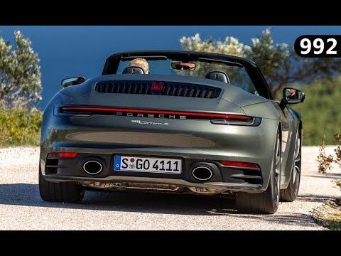 Agate Grey Porsche 992 Cabrio