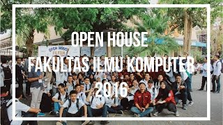 OPEN HOUSE FILKOM 2016