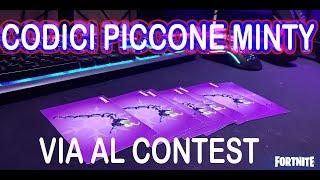CODICE PICCONE MINTY - CONTEST - ABBONATI - CODICE MINTY AXE /CODICE CREATORE : SKYSEN
