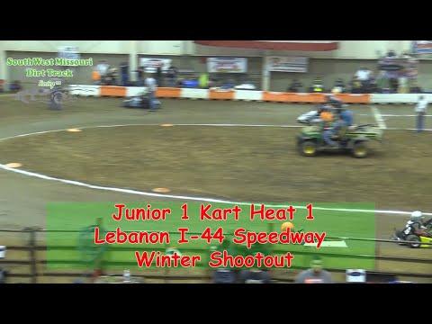 Junior 1 Kart Heat 1   I 44 Speedway Winter Shootout 1 20 2018