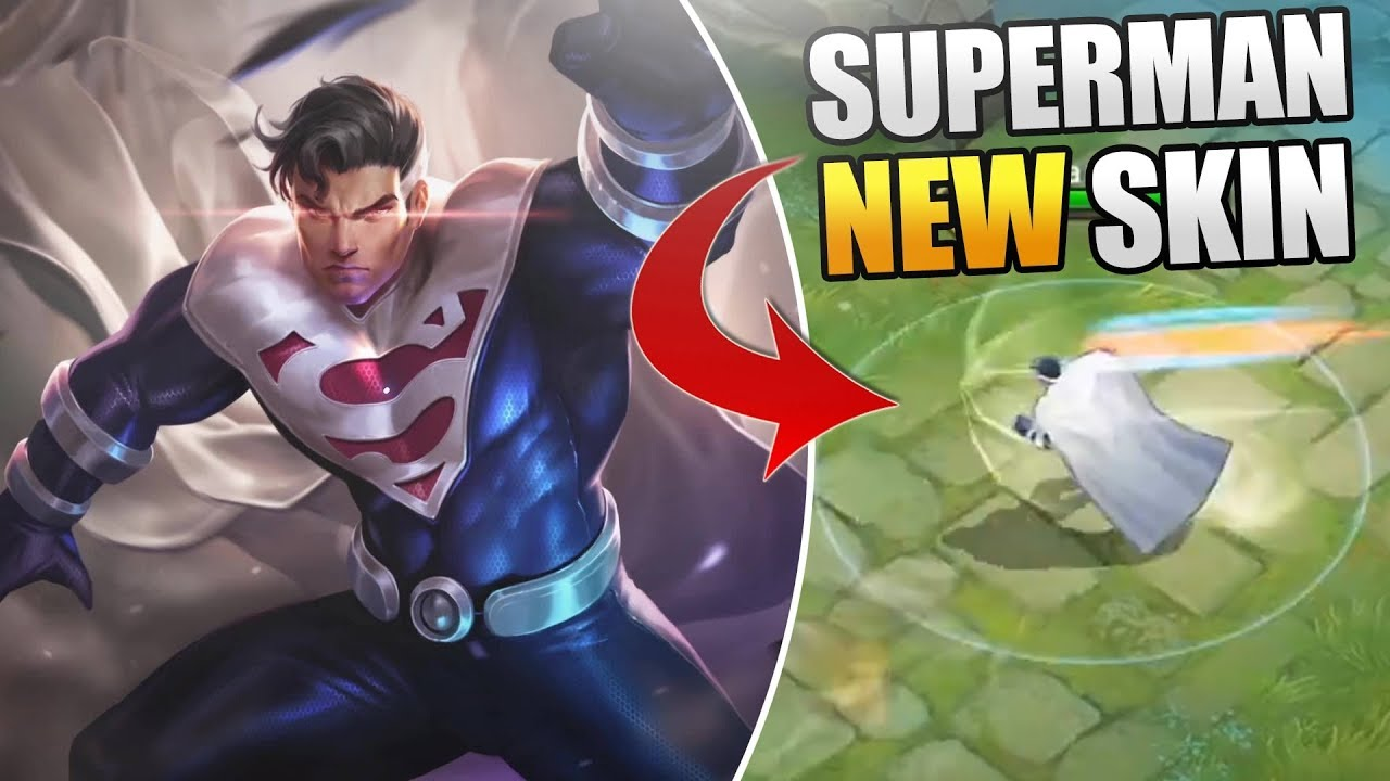 New Superman Skin New Hero Superman Gameplay Aov Release Date Pushed Back Again Arena Of Valor