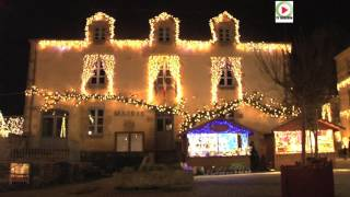 Bretagne Télé : Illuminations de Noel à Rochefort-en-Terre