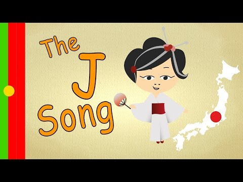 """Songs for kids in portuguese - The """"J-Song"""" - learning portuguese fast and easy"""