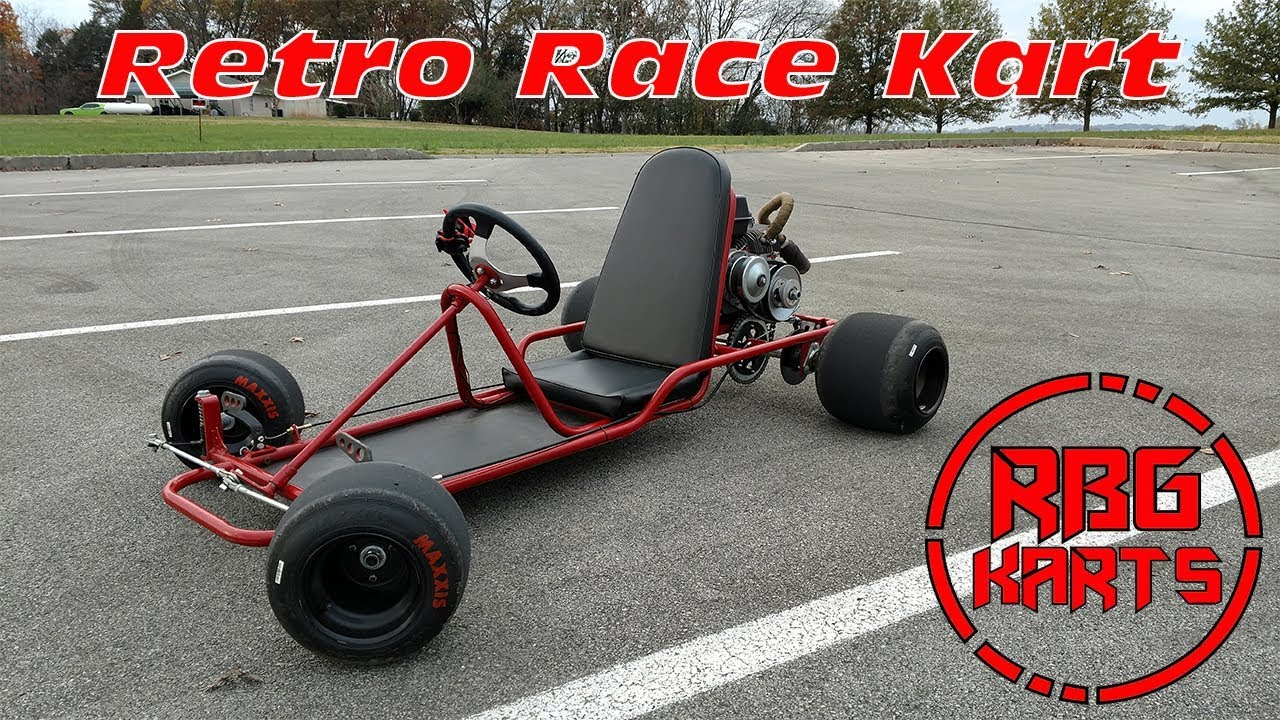 vintage racing go kart little red 2 0 go kart alley. Black Bedroom Furniture Sets. Home Design Ideas