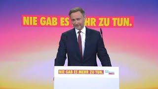 """Lindner: """"Keine Steuererhöhungen mit der FDP"""""""
