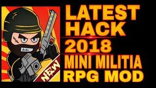 New 2018! Mini Militia Hack Mod : Doodle Army 2 Hack RPG MOD😍 [No Root]
