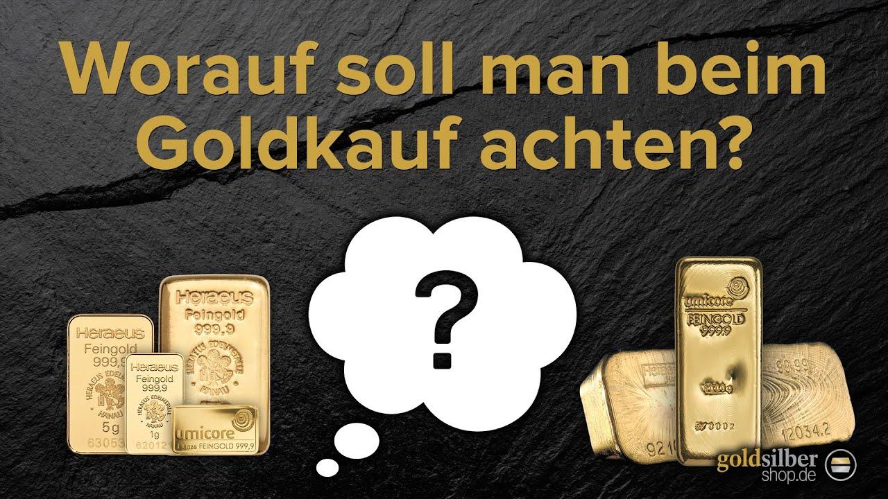 Goldbarren oder Münzen: Worauf beim Gold kaufen achten?
