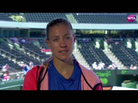 Angelique Kerber | 2017 Miami Open Pre-Tournament Interview