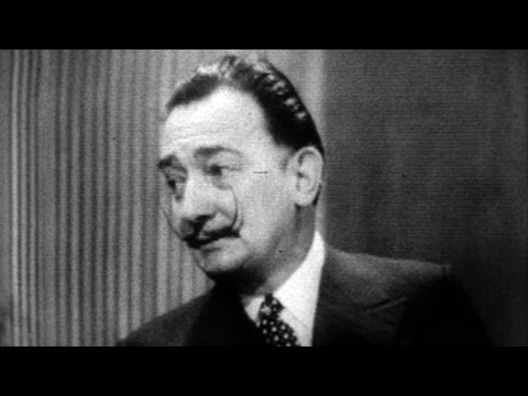 Salvador Dali on Melanchonic British Art - Talk Collection - BBC Four