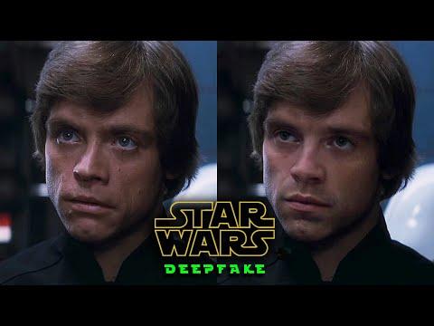 Sebastian Stan is Luke Skywalker [Deepfake]