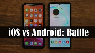 iOS (iPhone) vs Android - Which One is Better? Video