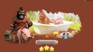 Clash Of Clans: Tuto attaque HDV 10, full cochons, 3 étoiles GDC
