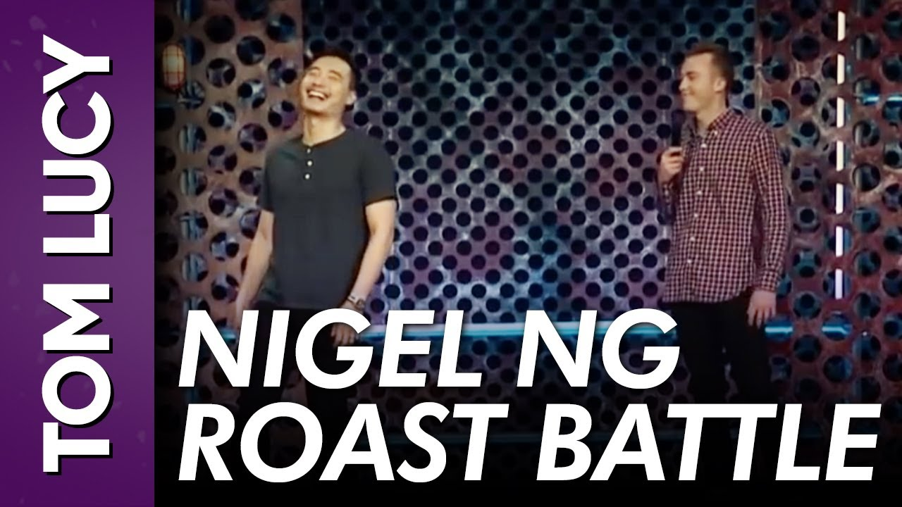 Tom Lucy vs Nigel Ng on Roast Battle!