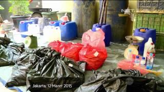 Polisi gerebek pabrik makanan berformalin dan pewarna tekstil - NET12