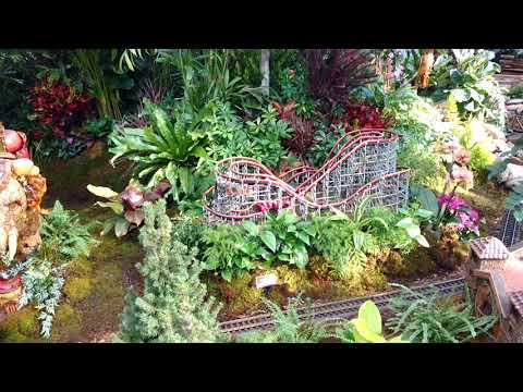 Holiday Train Show NYC Botanical Garden, 12/14/2017 - YouTube