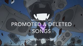 Monstercat: Promoted & Deleted Songs