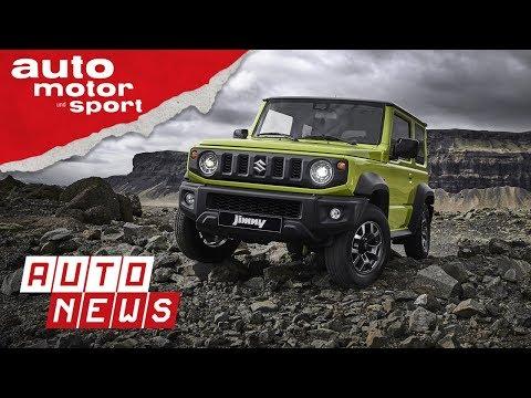 Suzuki Jimny (2018) - Quadratisch, praktisch, gut? - NEWS I auto motor und sport