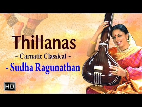 Thillanas by Padmashri Sudha Ragunathan - Carnatic Classical Music