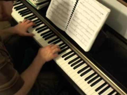I Wanna Be Sedated piano