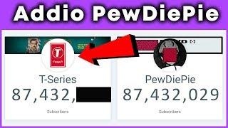 PewDiePie Non sarà più lo youtuber con più iscritti al mondo! Guardate chi lo sta per Battere!