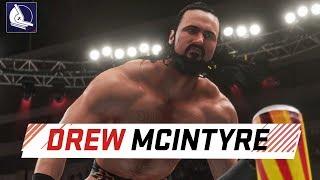 Drew McIntyre in WWE 2K18