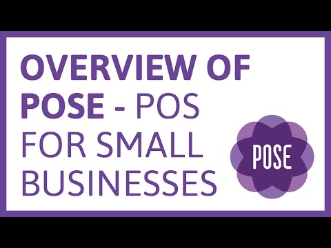 Video Tutorial: An overview of Pose POS for small businesses