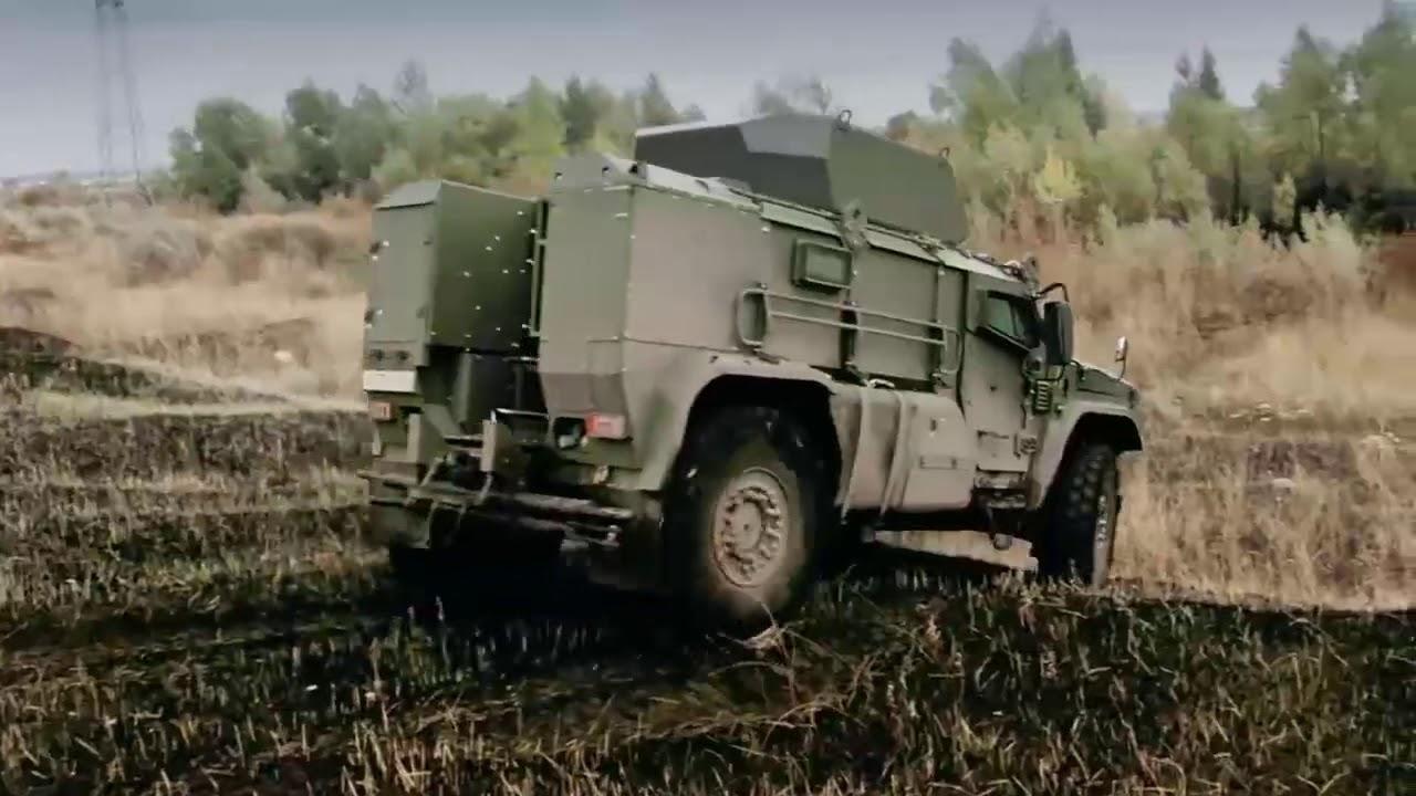 Russian AFV Kamaz Tyhpoon K&VDV Tornado Remdiesel Vistrel