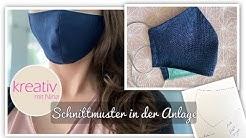 Behelfs Maske selber nähen Mundschutz cooler 😎Schnitt - VERLOSUNG- kostenloses Schnittmuster easy❤️
