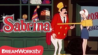 Sabrina Grabs A Magic Broom Stick  |  SABRINA THE TEENAGE WITCH