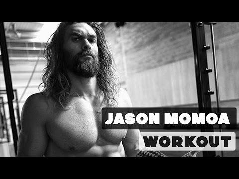 Jason Momoa training for Justice League | Hard Workout
