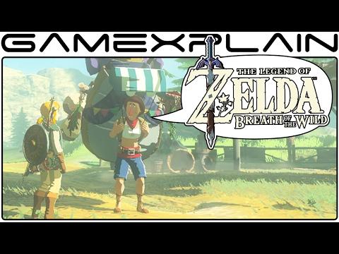 Zelda: BotW Update 6 - Deku Leaf Stumps, Game Informer Images, Beedle - Discussion (2.10.17)