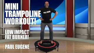 Mini Trampoline Fat Burning Fitness Exercise Workout 4 Anyone! Bounce Jump To Health | Rebounding!