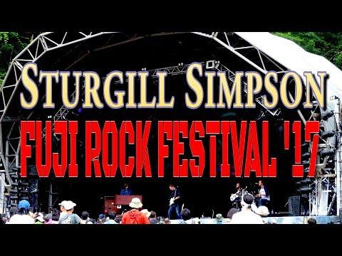 Sturgill Simpson Live at Fuji Rock Festival'17 #SturgillSimpson #FujiRock