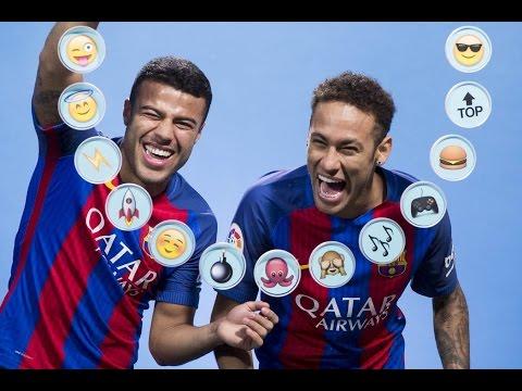 barÇa-emojis:-neymar-jr.-&-rafinha