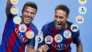 BARÇA EMOJIS: Neymar Jr. & Rafinha