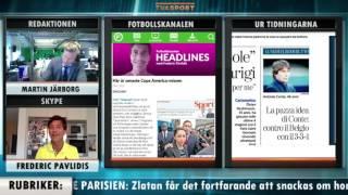 """Fotbollskanalen Headlines: """"Zlatan fick ovänner – och en ny supporter"""" - TV4 Sport"""