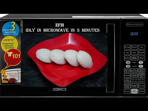 how-to-make-idli-in-microwave-oven-in-3-minutes---quick-microwave-idli-recipe-at-home-||-4k
