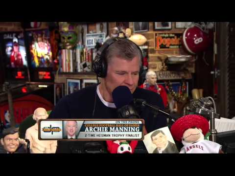 Archie Manning on the Dan Patrick Show 11/12/13