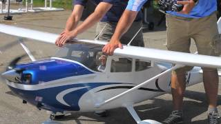 Tmmy Scale Composite 35% Cessna 182