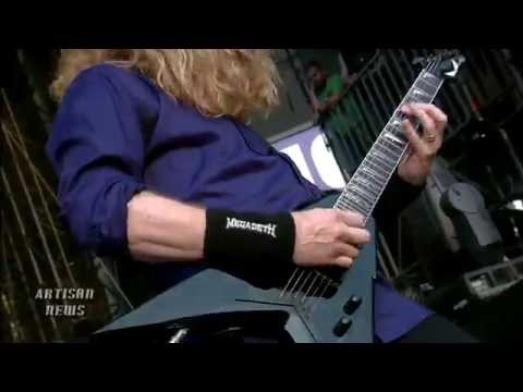 DAVE MUSTAINE RESPONDS TO JAMES HETFIELD BIG MOUTH COMMENTS