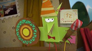 бумажки - Сюрприз - мультфильм для детей - поделки своими руками