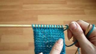 How to Knit: Stocking Stitch, aka Stockinette Stitch
