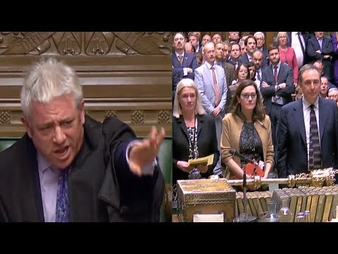 BERCOW BREXIT ALARM: Speaker uses casting vote, says NO - We don't want more indicative votes at all