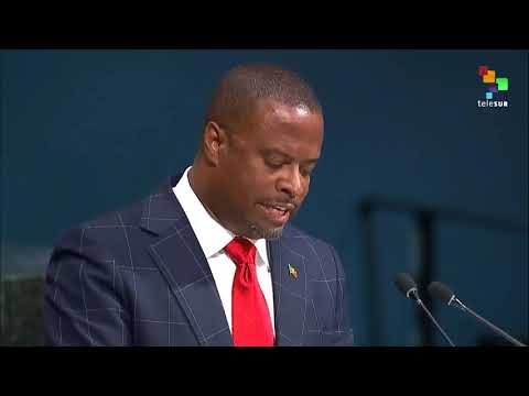 UN Speeches: Saint Kitts and Nevis' Minister for Foreign Affairs Mr. Mark Anthony Brantley