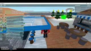 Nick plays roblox [BUILDS CHRISTMAS WATER PARK]