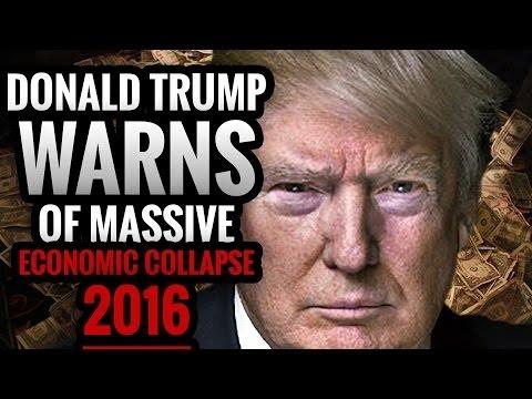 President Donald Trump Warns: The Biggest Stock Market Crash America Has EVER SEEN Is Coming!!