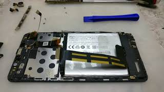Опять Китай.Meizu M3E Замена модуля./Meizu M3E display replacement