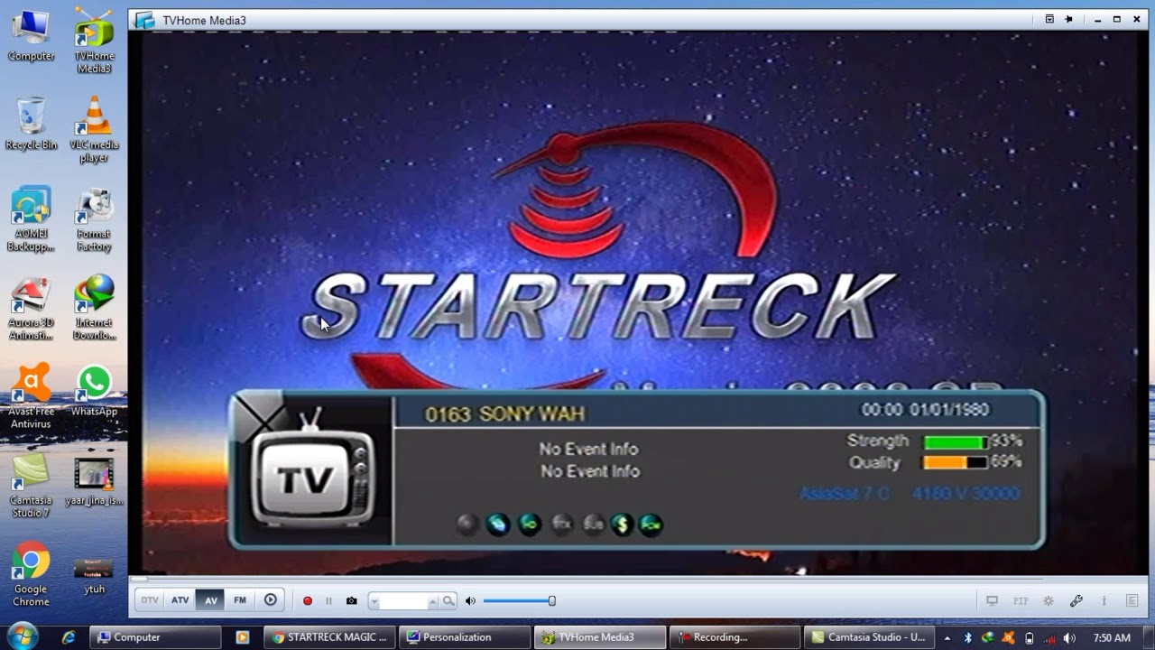 STAR TRACK MAGIC 9990 SR WITHOUT SIM SOFTWARE UPDATE